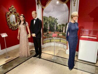 Madame Tussauds en Nueva York - Familia Real