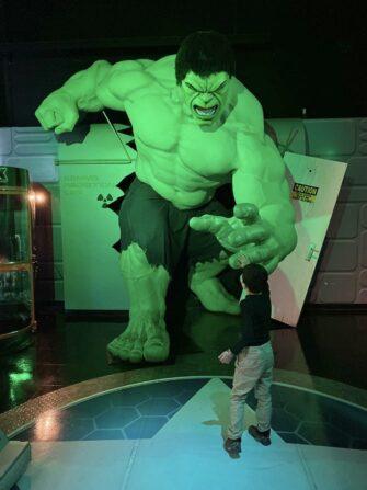 Madame Tussauds en Nueva York - Hulk