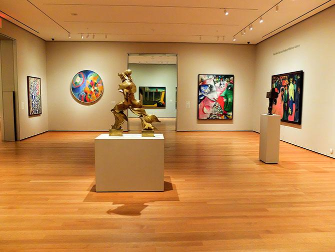 MoMA Museum of Modern Art en Nueva York - Museo vacío