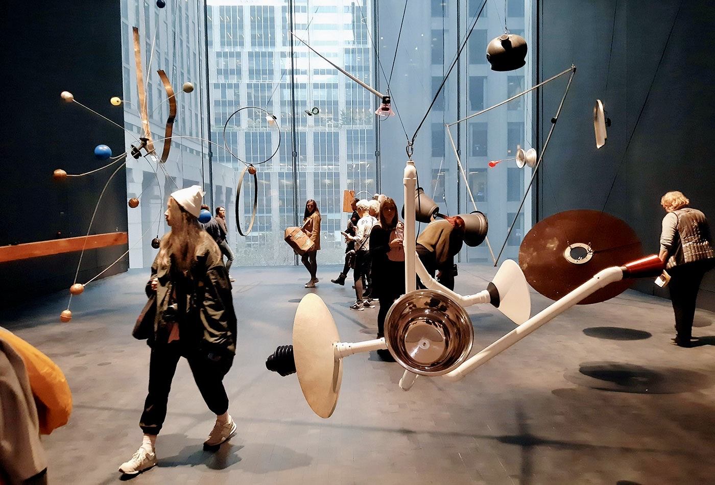 MoMA Museum of Modern Art en Nueva York - Instalación