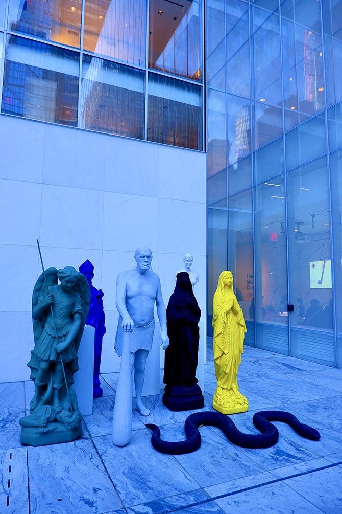 MoMA Museum of Modern Art en Nueva York - Esculturas