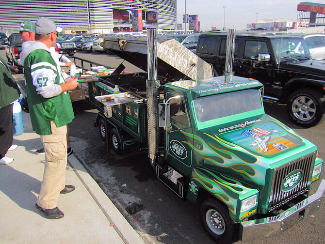 Tickets para los New York Jets - Parking