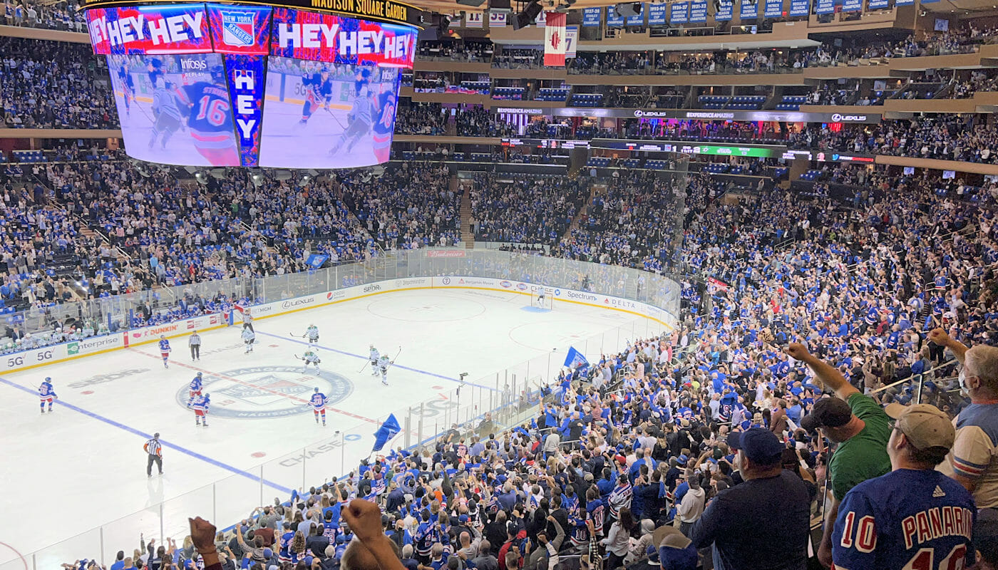Tickets para los New York Rangers - Madison Square Garden