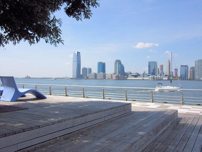 Parques en NYC - Pier 25 enTriBeCa