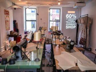 Tenement Museum recrea una fábrica de ropa china