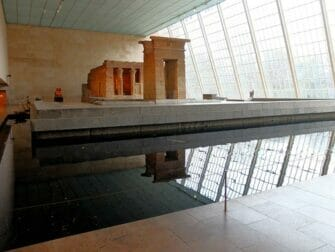 Metropolitan Museum of Art en Nueva York - Templo de Dendur