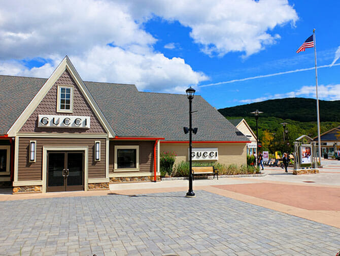 Woodbury Common Premium Outlet Center en Nueva York - Gucci