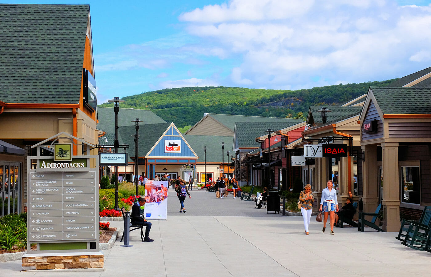 Woodbury Common Premium Outlet Center en Nueva York - De compras