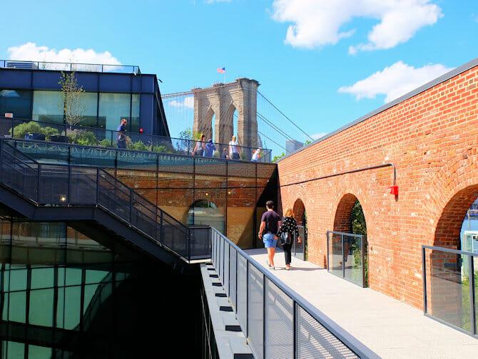 Brooklyn Bridge Park en Nueva York - Tejado Empire Stores