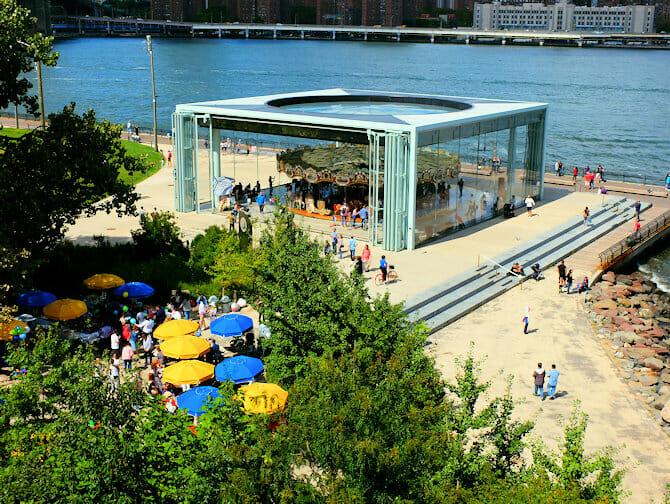 Brooklyn Bridge Park en Nueva York - Jane's Carousel
