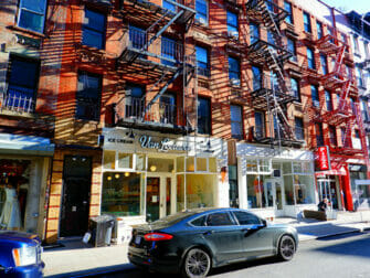 Lower East Side en NYC - tiendas