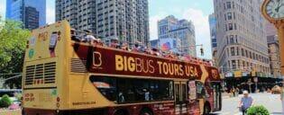Bus Hop on Hop off Bus en Nueva York