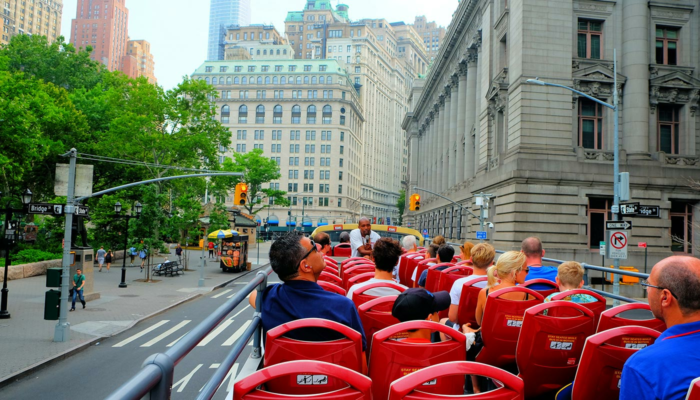 Bus hop on hop off en Nueva York - Turismo