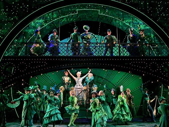 Tickets para Wicked en Broadway - Escenario