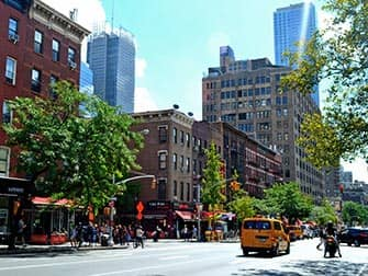 Hell's Kitchen en NYC - 9th Avenue