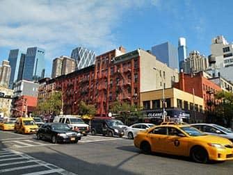 Hell's Kitchen en NYC - 9th y la 52nd