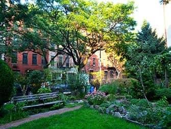 Hell's Kitchen en NYC - Clinton Community Garden