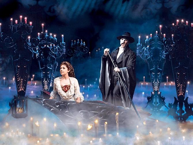 Tickets para The Phantom of the Opera en Broadway - Navegando