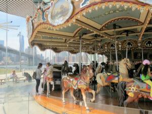 Jane's Carousel en Nueva York
