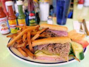 Comida típica americana en NuevaYork