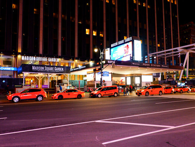 Madison Square Garden en Nueva York- Billboard