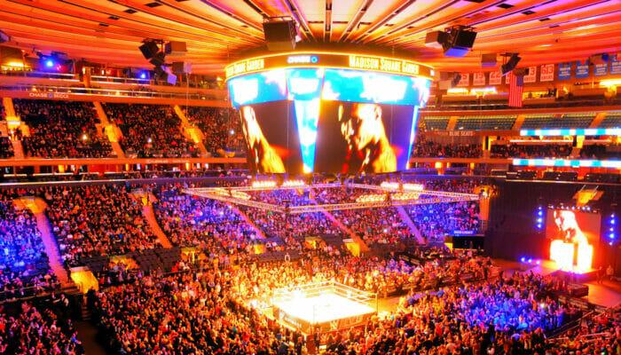Madison Square Garden en NYC - Interior
