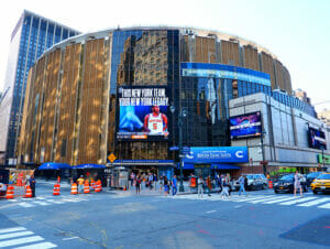 Madison Square Garden en Nueva York
