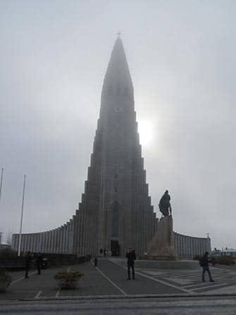 Escala en Islandia - Hallgrimskirkja