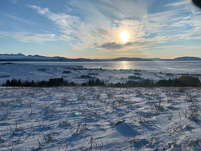 Escala en Islandia de camino a Nueva York