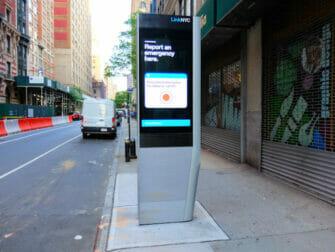 Wi-Fi gratis en Nueva York - estacion