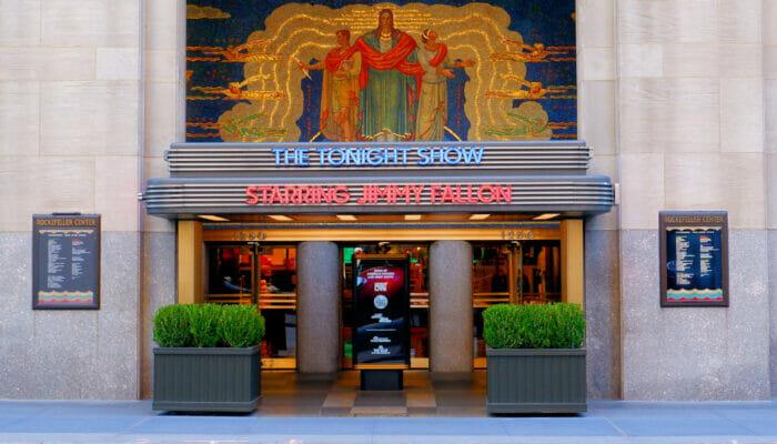 TV show Nueva York- Tonight Show