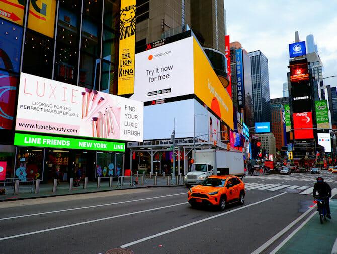 Tour Glee en Nueva York - Times Square