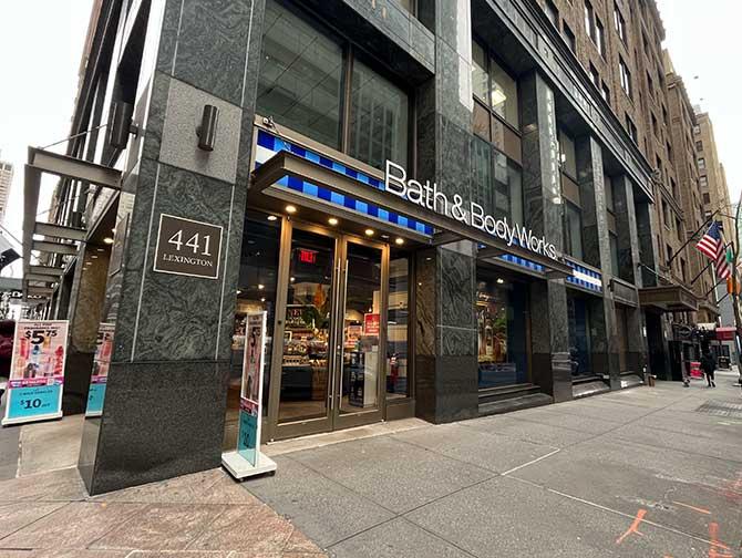 Maquillaje en Nueva York - Bath and Body Works