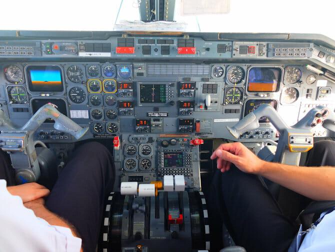 Excursion a Niagara Falls en avion privado - Cabina