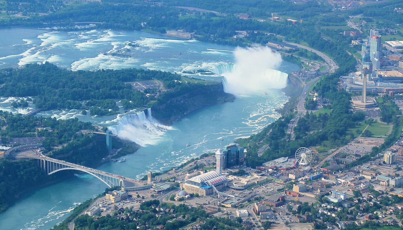 Excursión a Niagara Falls en avión privado - Vistas desde el avión