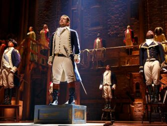 Hamilton on Broadway tickets A hiphop show