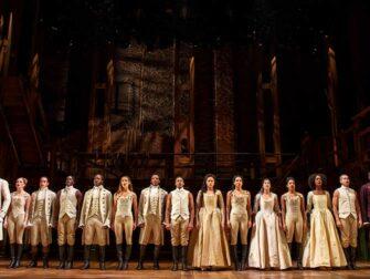 Hamilton on Broadway tickets The cast