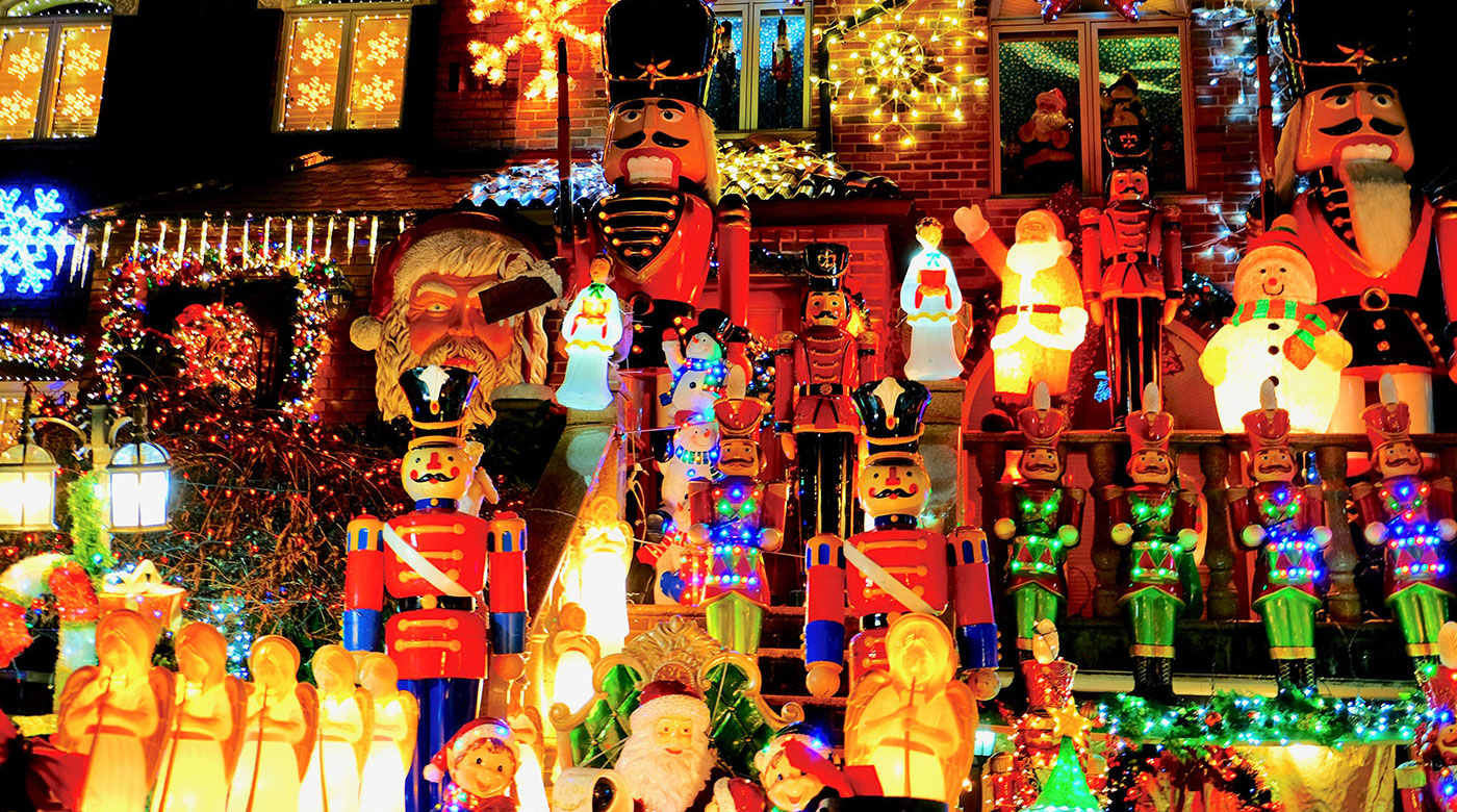 Dyker Heights Christmas Lights - Decoraciones
