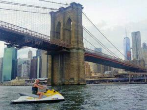 Jet ski en Nueva York