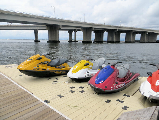 Jet ski en Nueva York - Motos acuáticas
