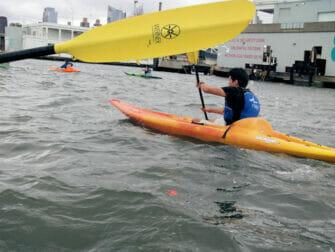 Kayak en Nueva York - Río Hudson