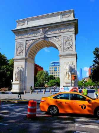 Tour en bicicleta por Manhattan - Washington Square Park