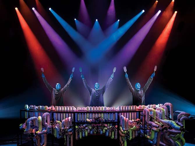 Tickets para Blue Man Group en Nueva York - Percusión