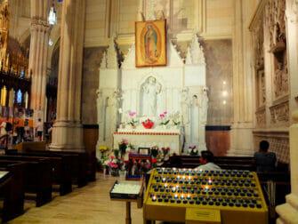 St. Patrick's Cathedral en Nueva York - Altar