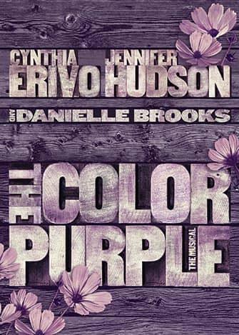 The Color Purple en Broadway - Poster