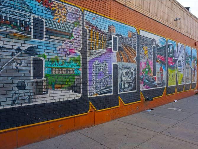 Arte callejero en el Bronx
