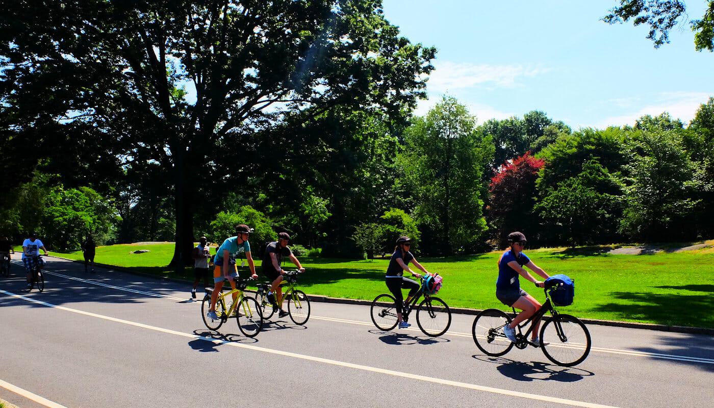 Nueva York en bicicleta