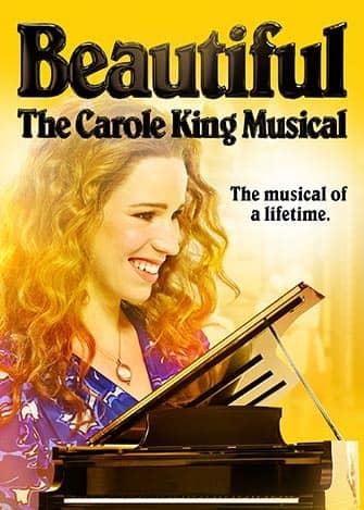 Beautiful The Carole King Musical en Broadway - Cartel