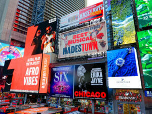 Theater District en Nueva York