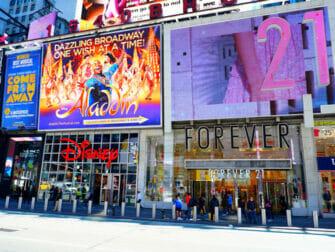 Theater District en Nueva York - Forever21